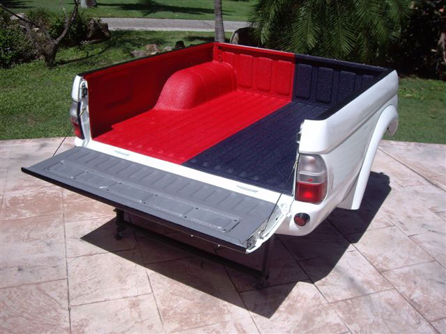 Truck bed treated with IP 1000